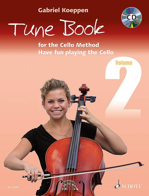 Cello method: Tune book 2 image
